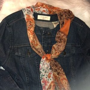 Liz Claiborne denim jacket, medium.